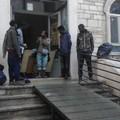 Commercianti ambulanti ospitati presso Casa de Napoli