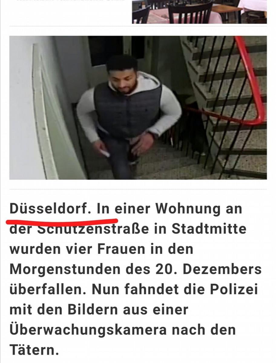 L'articolo pubblicato su un sito tedesco il 13 febbraio scorso