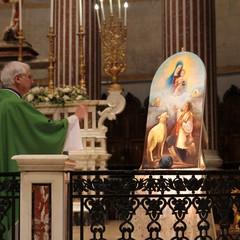 Benedizione quadro Don Franco Vitagliano