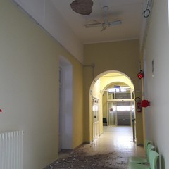 Cadono calcinacci all ospedale Sarcone Terlizzi