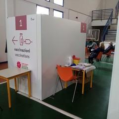 Centro vaccinale Palachicoli Terlizzi maggio