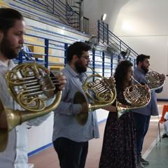 Hub vaccinale Concerto Apulia Horn Quarter Terlizzi JPG