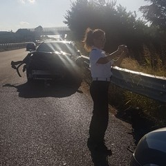 Incidente stradale svincolo Portoni