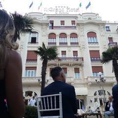 Incontro Ninni Gemmato con il Principe Alberto II di Monaco Rimini
