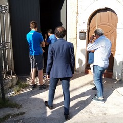 Lamione visita al Carro Trionfale