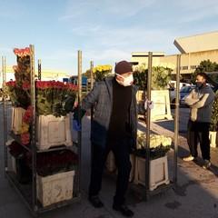 Riapertura mercato dei fiori fase