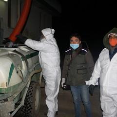 Sanificazione della citt coronavirus JPG
