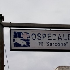 Sporcizia allospedale Sarcone di Terlizzi