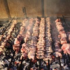 Tradizione della  carne alla brace. terlizzi