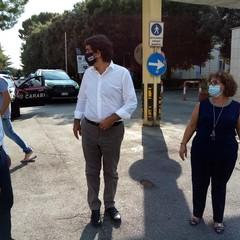 Visita di Fitto all ospedale M Sarcone
