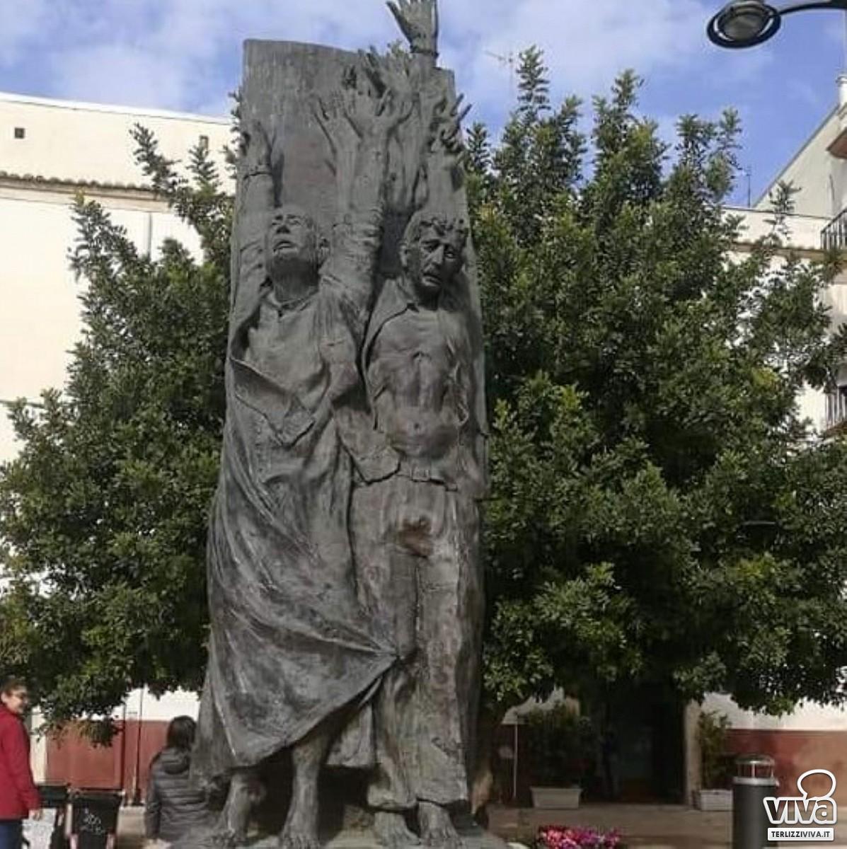 Il monumento ai martiri delle Fosse Ardeatine