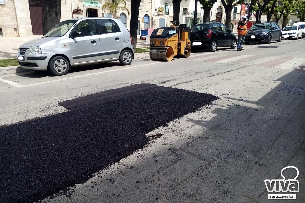 Colmatura buche stradali
