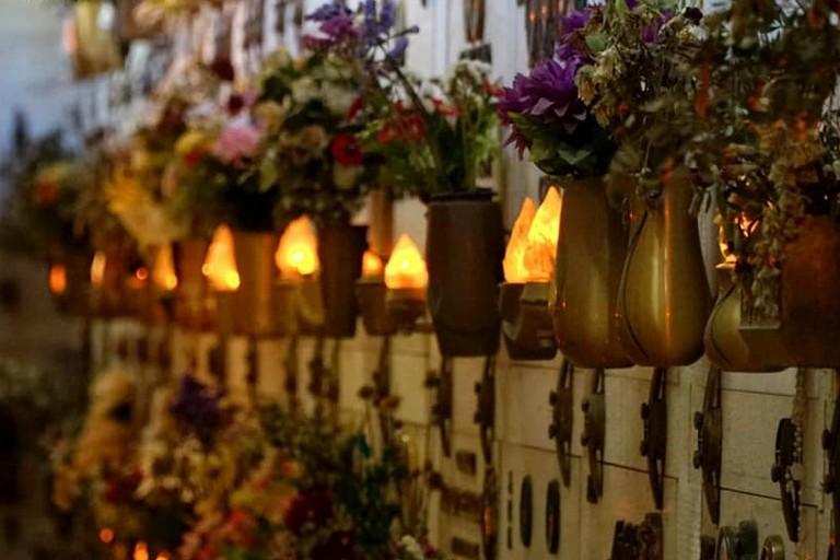 Lampade votive. <span>Foto Comune di Terlizzi</span>