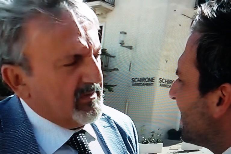 Michele Emiliano con Gaetano Pecoraro