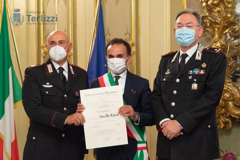 """Onorificenze """"Al merito della Repubblica Italiana"""" per tre terlizzesi (FOTO)"""