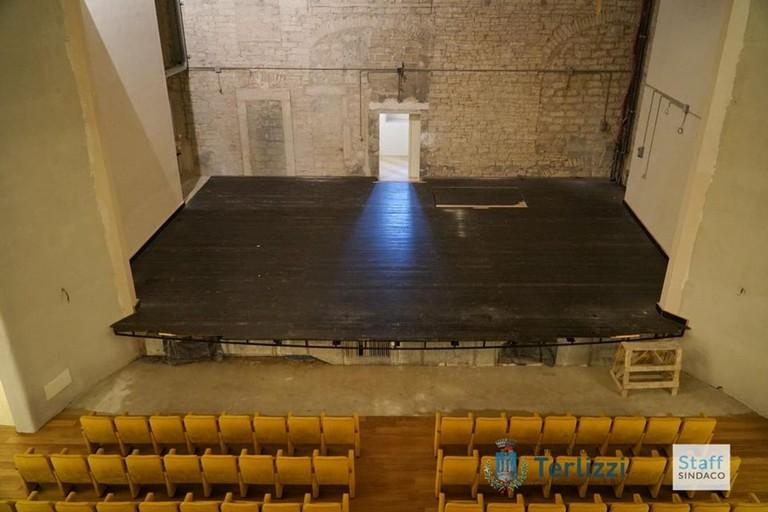 Il palcoscenico del Teatro Millico