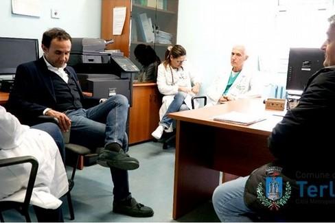 Gemmato incontra i medici. <span>Foto Ufficio Stampa Comune di Terlizzi</span>