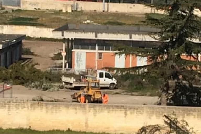Cantiere aperto in via Macello: in costruzione una struttura commerciale