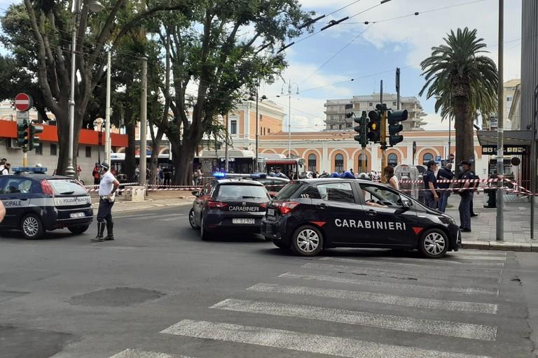 Allarme bomba a Bari Centrale