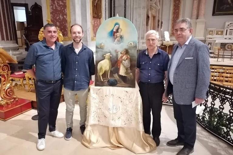 Benedizione quadro Cattedrale