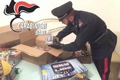 Oltre 750 bombe carta trovate in un casolare tra Terlizzi e Ruvo