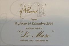 "La Boutique NinniPa ospita ""le Muse"""