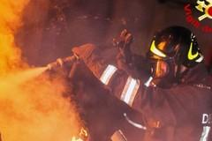 Incendio di venerdì sera: brucia una Fiat Panda