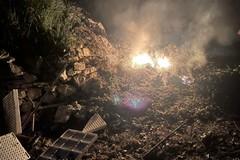 Rogo di rifiuti in località Gurgo: le immagini dei volontari di Puliamo Terlizzi