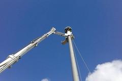 Ripetitore telefonico alto 36 metri, ora Città Civile chiede spiegazioni