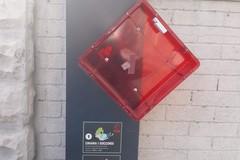 Vandalizzato il defibrillatore di piazza Europa