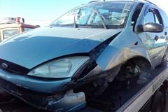Incidente stradale sulla Terlizzi-Mariotto: auto fuori strada, un ferito