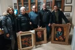 Opere di Antonio Volpe donate alla chiesa Santa Maria la Nova