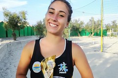Terlizzi nell'elite del beach volley con Alessandra Parisi