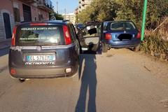 Auto rubata trovata in centro abitato