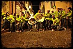 Una banda speciale tra i negozi di corso Vittorio Emanuele