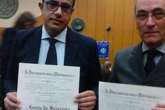 De Scisciolo e Cipriani: Cavaliere e Cavaliere Ufficiale della Repubblica