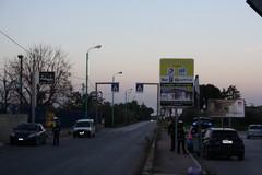 Coronavirus: controlli della Polizia Locale sugli ingressi in città (FOTO)