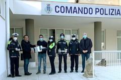 La Zero & Co. regala mascherine alla Polizia Locale di Terlizzi