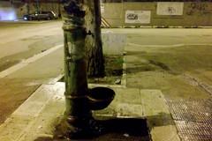 Spreco di acqua per la fontana di Largo Torino