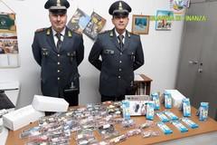 Prodotti contraffatti e pericolosi, controlli della Finanza in Puglia