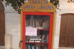 A Sovereto una piccola libreria a vista