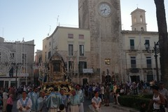 """Ieri la toccante processione dell'""""Ottava"""" della Madonna di Sovereto"""