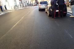 Investita donna  mentre attraversava la strada in pieno centro