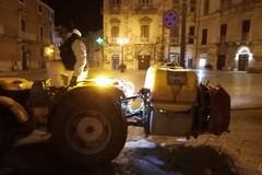 Ieri sera la nuova sanificazione della città di Terlizzi (FOTO)