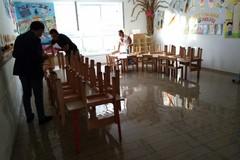 Maltempo, allagata la scuola di via Sanremo