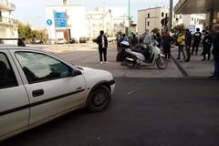 Impatto auto-scooter: un ferito in viale Roma a Terlizzi