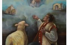 Gemellaggio Terlizzi-Rivello: l'Associazione Festa Maggiore dona il quadro di Giacomo Angarano