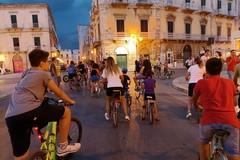"""Pedalata sotto la pioggia a Terlizzi. """"Vivila in bici"""" non si ferma (FOTO)"""