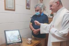 Il Comitato Feste di Terlizzi dona un quadro della Madonna di Sovereto a Rivello
