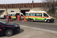 Scontro sulla strada provinciale per Molfetta: ferite le persone a bordo